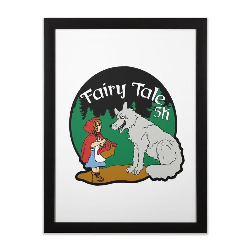 Fairy Tale 5K Home Framed Fine Art Print by moonjoggers's Artist Shop