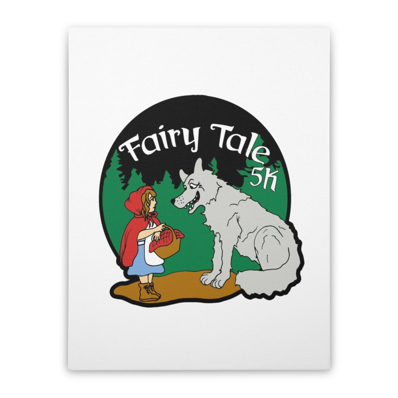 Fairy Tale 5K Home Stretched Canvas by moonjoggers's Artist Shop