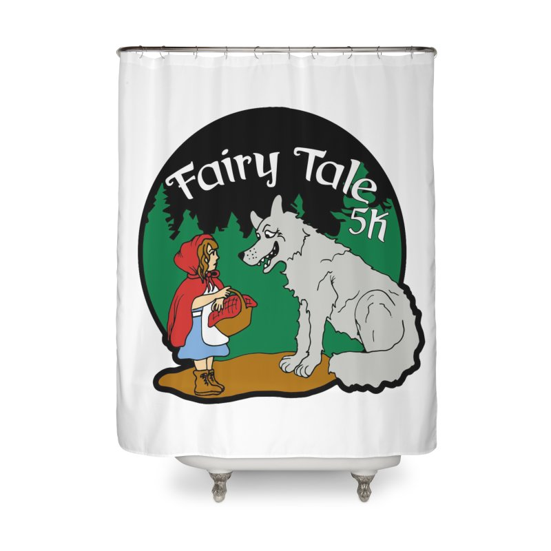 Fairy Tale 5K Home Shower Curtain by moonjoggers's Artist Shop