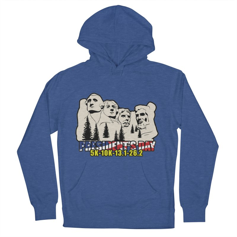 President's Day 5K, 10K, 13.1, 26.2 Women's French Terry Pullover Hoody by moonjoggers's Artist Shop
