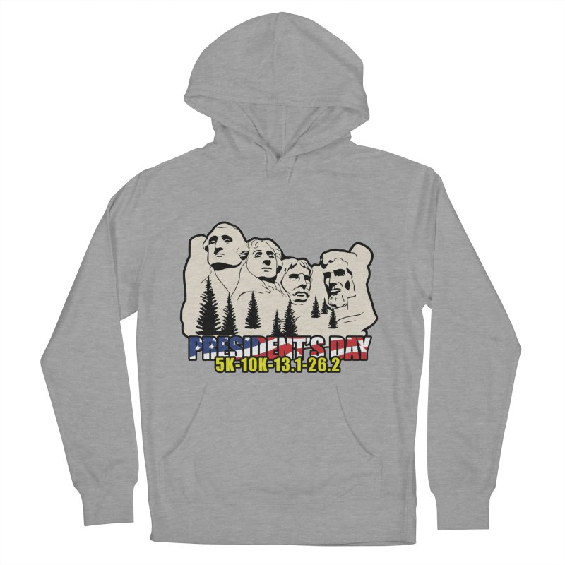 President's Day 5K, 10K, 13.1, 26.2 Men's French Terry Pullover Hoody by moonjoggers's Artist Shop