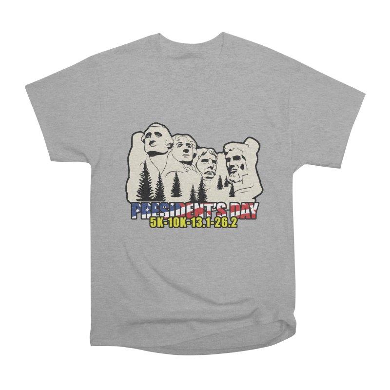 President's Day 5K, 10K, 13.1, 26.2 Men's Heavyweight T-Shirt by moonjoggers's Artist Shop