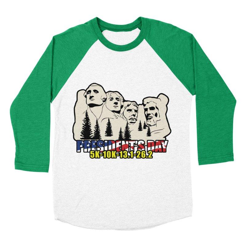 President's Day 5K, 10K, 13.1, 26.2 Women's Baseball Triblend Longsleeve T-Shirt by moonjoggers's Artist Shop