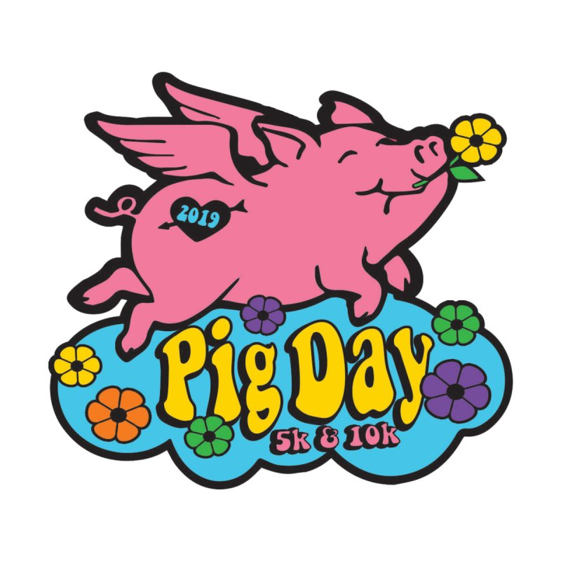 Pig Day 5K & 10K by moonjoggers's Artist Shop