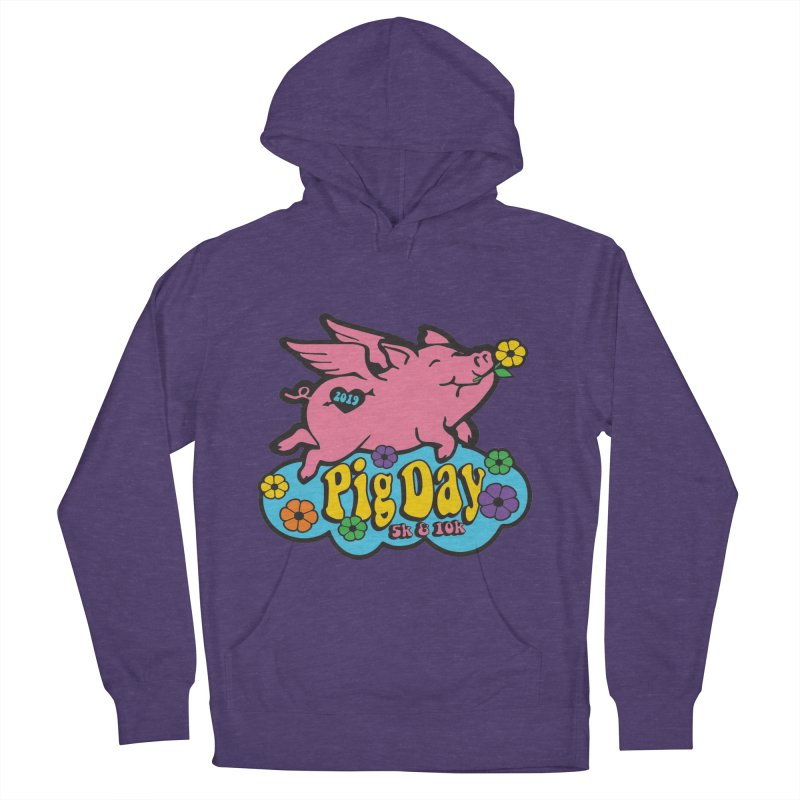 Pig Day 5K & 10K Women's French Terry Pullover Hoody by moonjoggers's Artist Shop