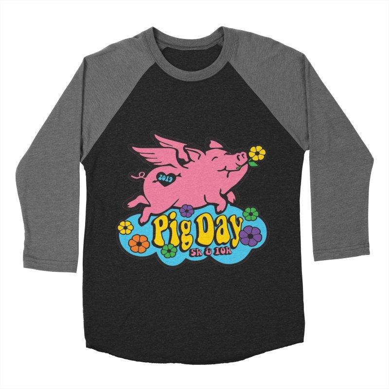 Pig Day 5K & 10K Women's Baseball Triblend Longsleeve T-Shirt by moonjoggers's Artist Shop