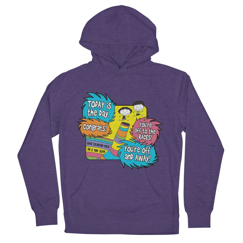 Race to Rhyme-Ville 5K & 10K Women's French Terry Pullover Hoody by moonjoggers's Artist Shop