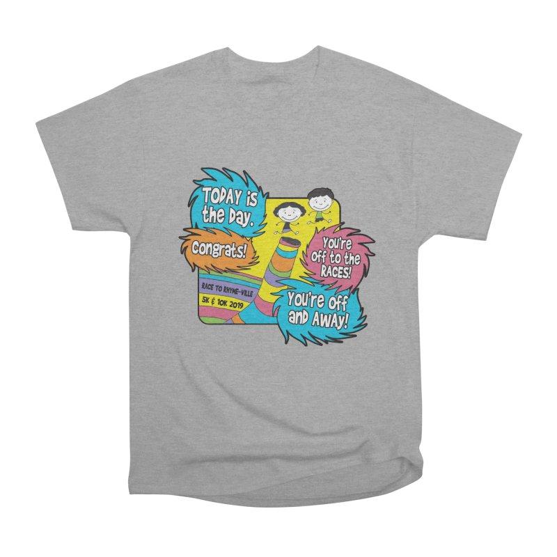 Race to Rhyme-Ville 5K & 10K Men's Heavyweight T-Shirt by moonjoggers's Artist Shop