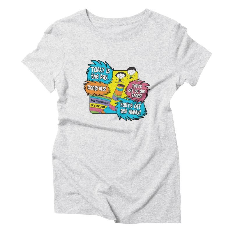 Race to Rhyme-Ville 5K & 10K Women's Triblend T-Shirt by moonjoggers's Artist Shop