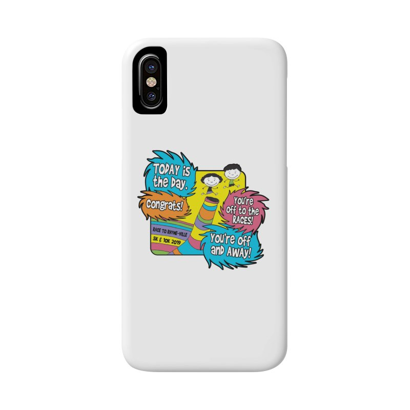 Race to Rhyme-Ville 5K & 10K Accessories Phone Case by moonjoggers's Artist Shop