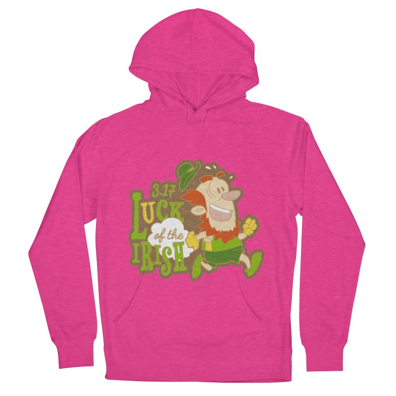 Luck of the Irish 3.17 Women's French Terry Pullover Hoody by moonjoggers's Artist Shop