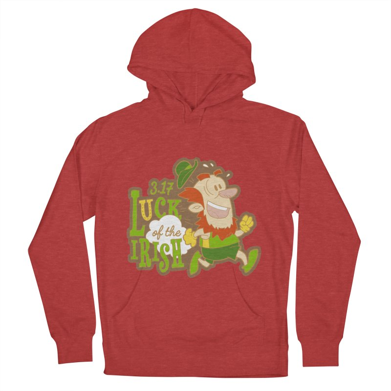 Luck of the Irish 3.17 Men's French Terry Pullover Hoody by moonjoggers's Artist Shop