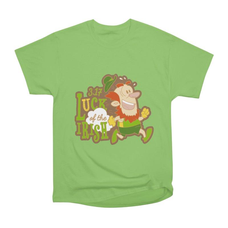 Luck of the Irish 3.17 Women's Heavyweight Unisex T-Shirt by moonjoggers's Artist Shop