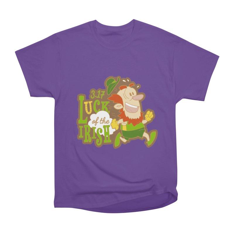 Luck of the Irish 3.17 Men's Heavyweight T-Shirt by moonjoggers's Artist Shop