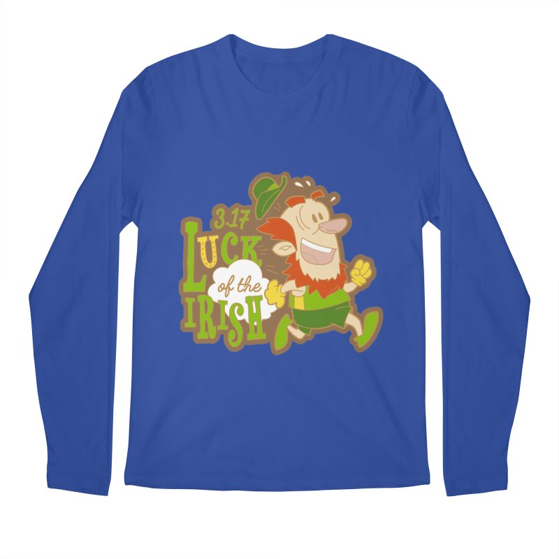 Luck of the Irish 3.17 Men's Regular Longsleeve T-Shirt by moonjoggers's Artist Shop