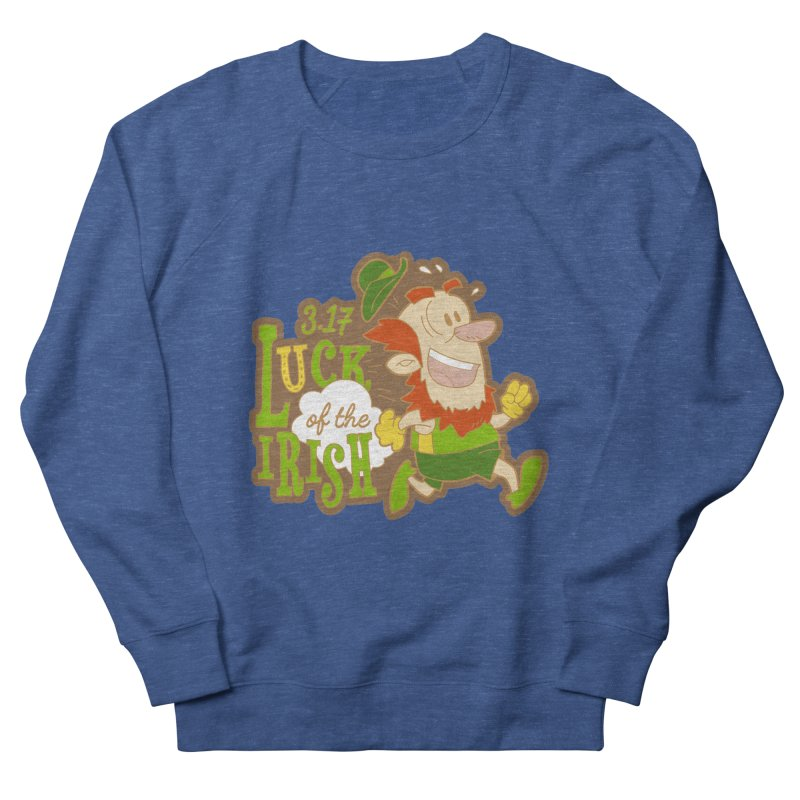Luck of the Irish 3.17 Women's French Terry Sweatshirt by moonjoggers's Artist Shop