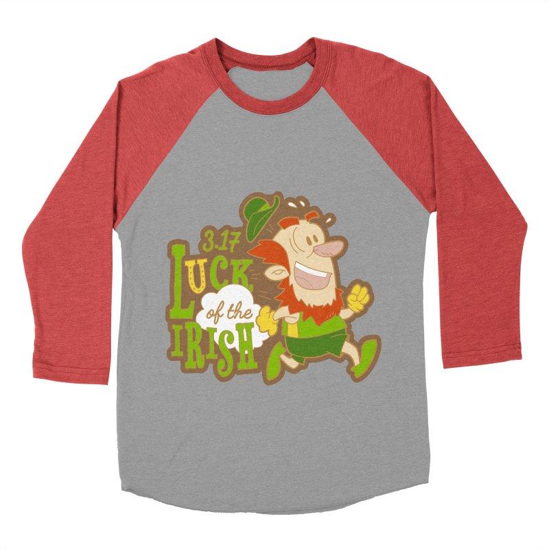 Luck of the Irish 3.17 Women's Baseball Triblend Longsleeve T-Shirt by moonjoggers's Artist Shop