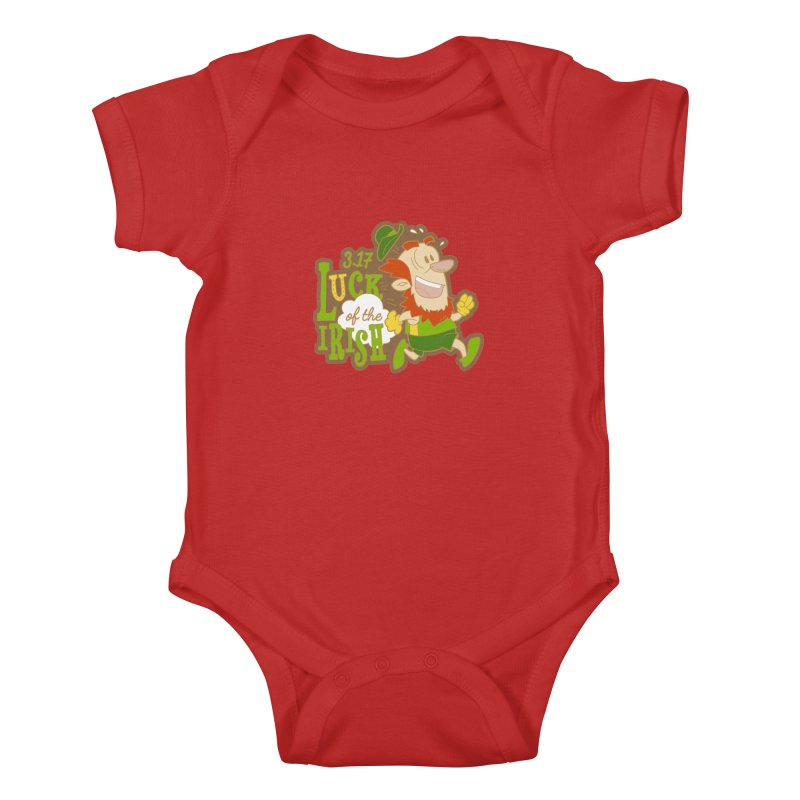 Luck of the Irish 3.17 Kids Baby Bodysuit by moonjoggers's Artist Shop