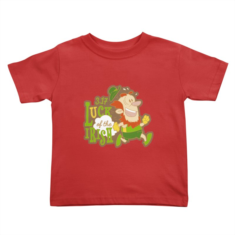 Luck of the Irish 3.17 Kids Toddler T-Shirt by moonjoggers's Artist Shop