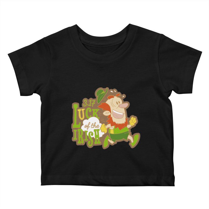 Luck of the Irish 3.17 Kids Baby T-Shirt by moonjoggers's Artist Shop