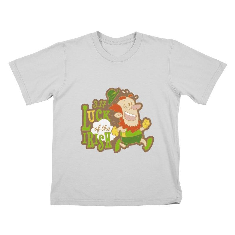 Luck of the Irish 3.17 Kids T-Shirt by moonjoggers's Artist Shop