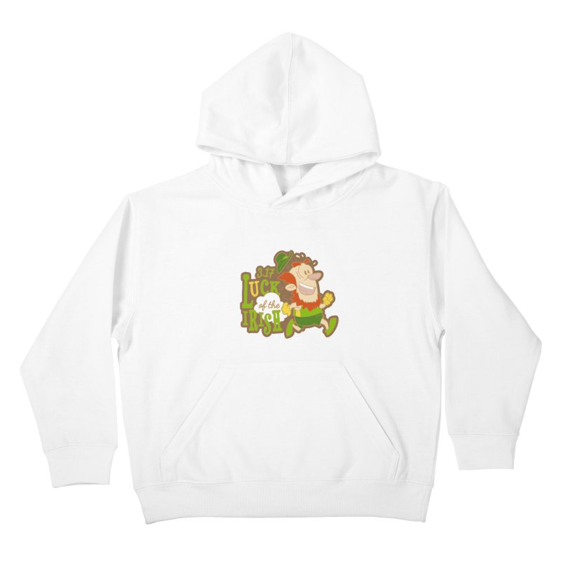 Luck of the Irish 3.17 Kids Pullover Hoody by moonjoggers's Artist Shop
