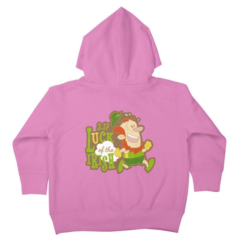 Luck of the Irish 3.17 Kids Toddler Zip-Up Hoody by moonjoggers's Artist Shop