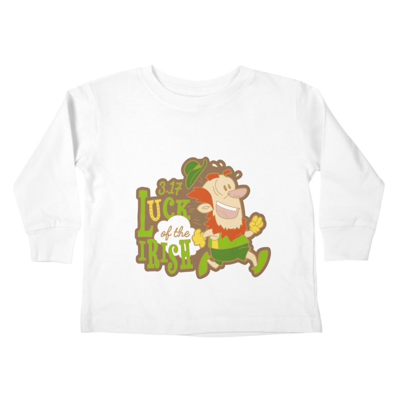 Luck of the Irish 3.17 Kids Toddler Longsleeve T-Shirt by moonjoggers's Artist Shop