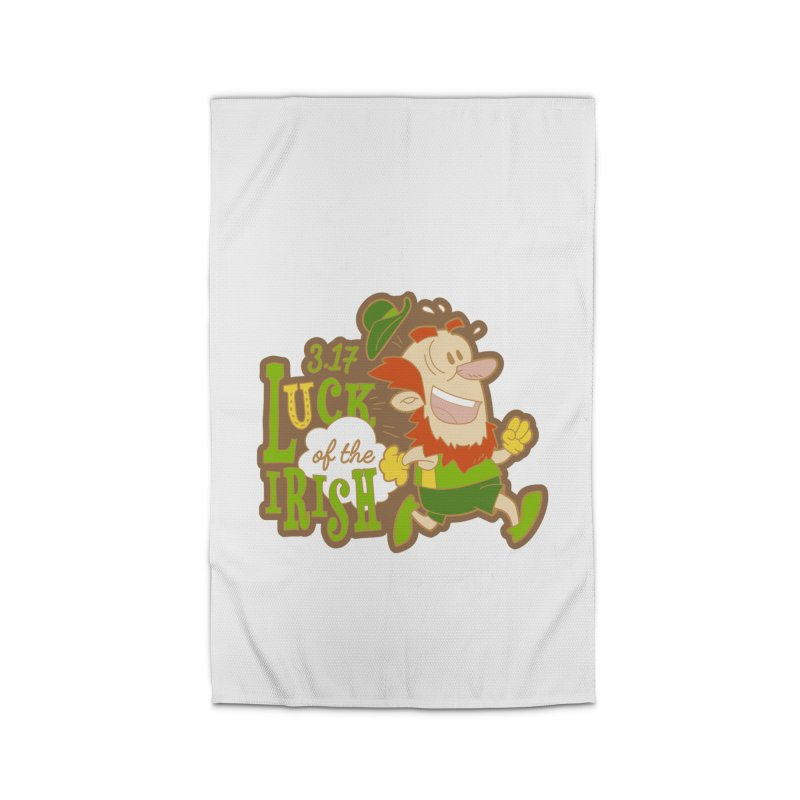 Luck of the Irish 3.17 Home Rug by moonjoggers's Artist Shop
