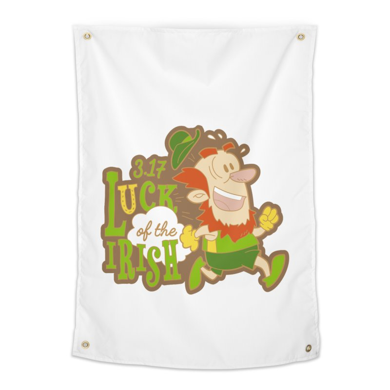 Luck of the Irish 3.17 Home Tapestry by moonjoggers's Artist Shop