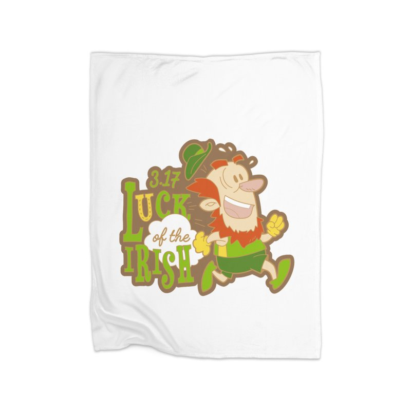 Luck of the Irish 3.17 Home Blanket by moonjoggers's Artist Shop
