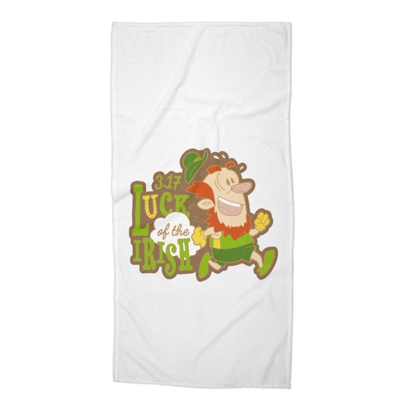 Luck of the Irish 3.17 Accessories Beach Towel by moonjoggers's Artist Shop