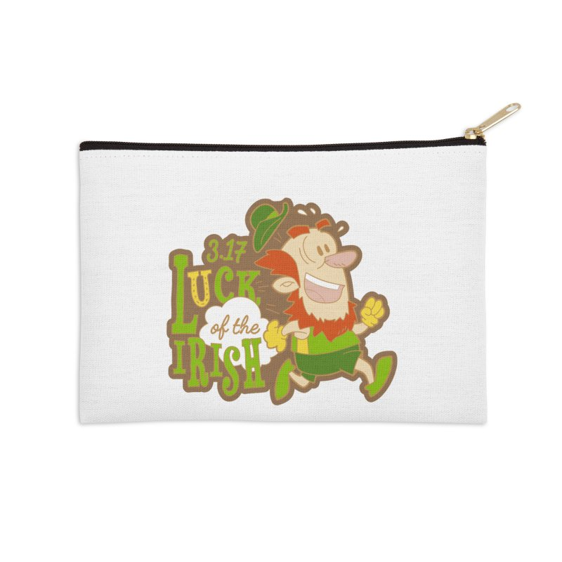 Luck of the Irish 3.17 Accessories Zip Pouch by moonjoggers's Artist Shop