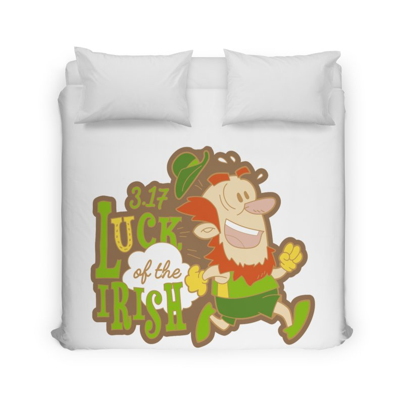 Luck of the Irish 3.17 Home Duvet by moonjoggers's Artist Shop