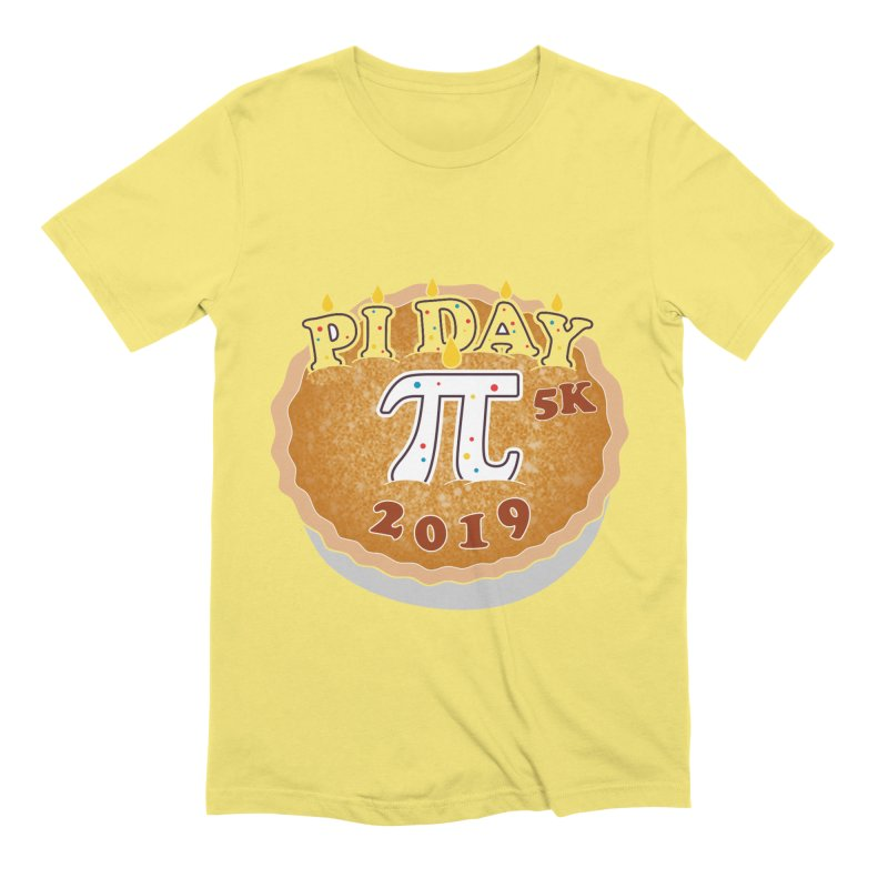 Pi Day 5K Men's T-Shirt by Moon Joggers's Artist Shop