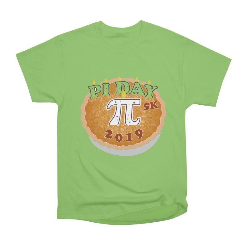 Pi Day 5K Men's Heavyweight T-Shirt by moonjoggers's Artist Shop