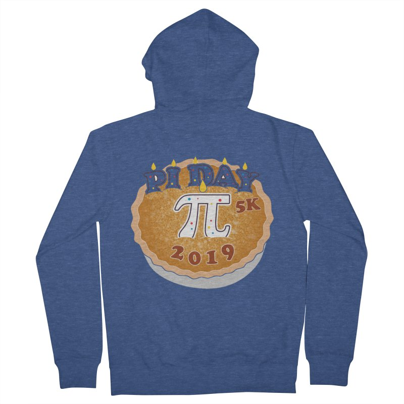 Pi Day 5K Women's French Terry Zip-Up Hoody by moonjoggers's Artist Shop