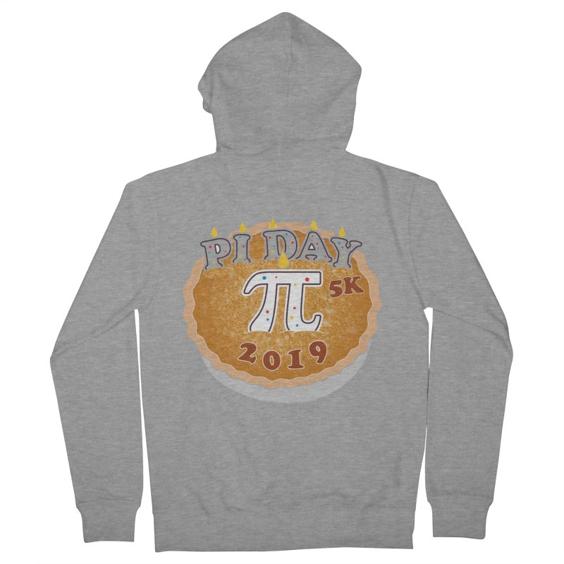 Pi Day 5K Men's French Terry Zip-Up Hoody by moonjoggers's Artist Shop