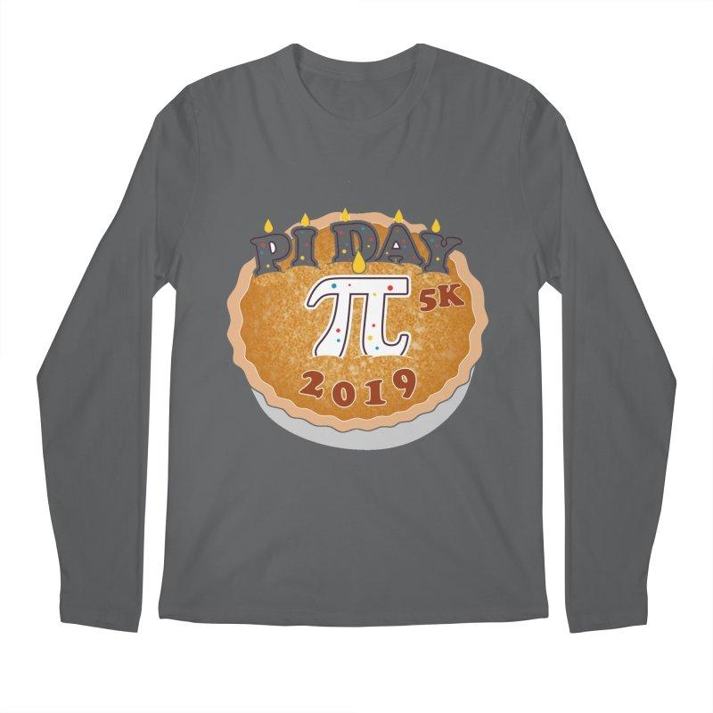 Pi Day 5K Men's Regular Longsleeve T-Shirt by moonjoggers's Artist Shop