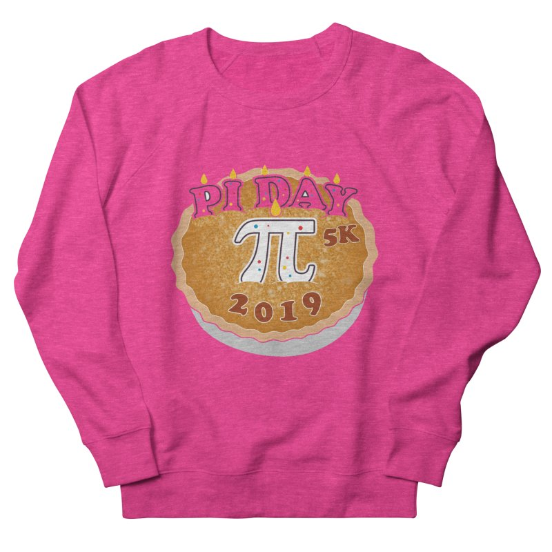 Pi Day 5K Women's French Terry Sweatshirt by moonjoggers's Artist Shop