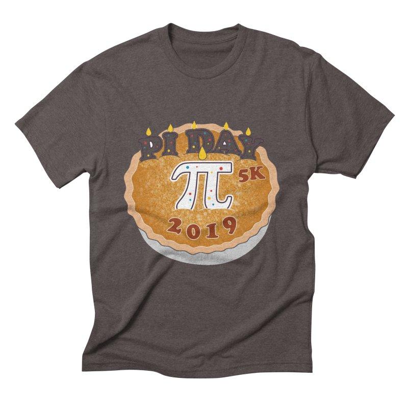 Pi Day 5K Men's Triblend T-Shirt by moonjoggers's Artist Shop