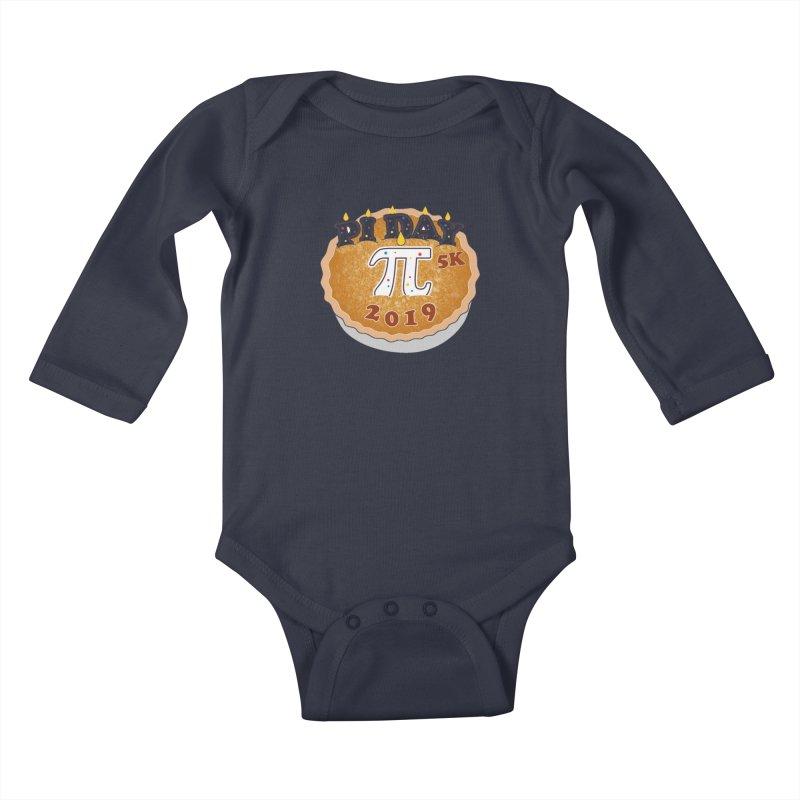 Pi Day 5K Kids Baby Longsleeve Bodysuit by moonjoggers's Artist Shop