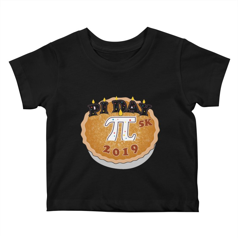 Pi Day 5K Kids Baby T-Shirt by moonjoggers's Artist Shop