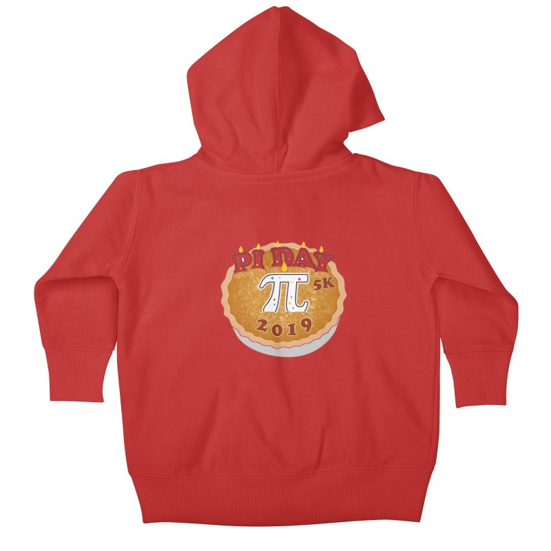 Pi Day 5K Kids Baby Zip-Up Hoody by moonjoggers's Artist Shop