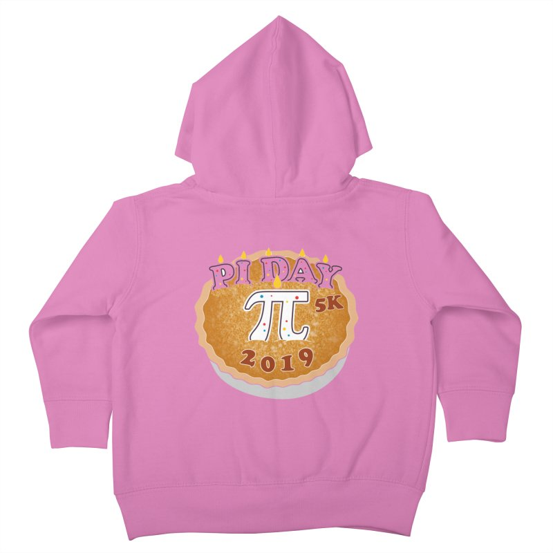 Pi Day 5K Kids Toddler Zip-Up Hoody by moonjoggers's Artist Shop