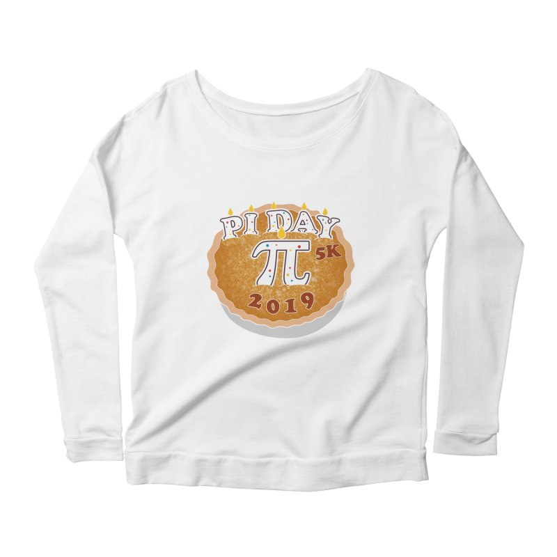 Pi Day 5K Women's Scoop Neck Longsleeve T-Shirt by moonjoggers's Artist Shop