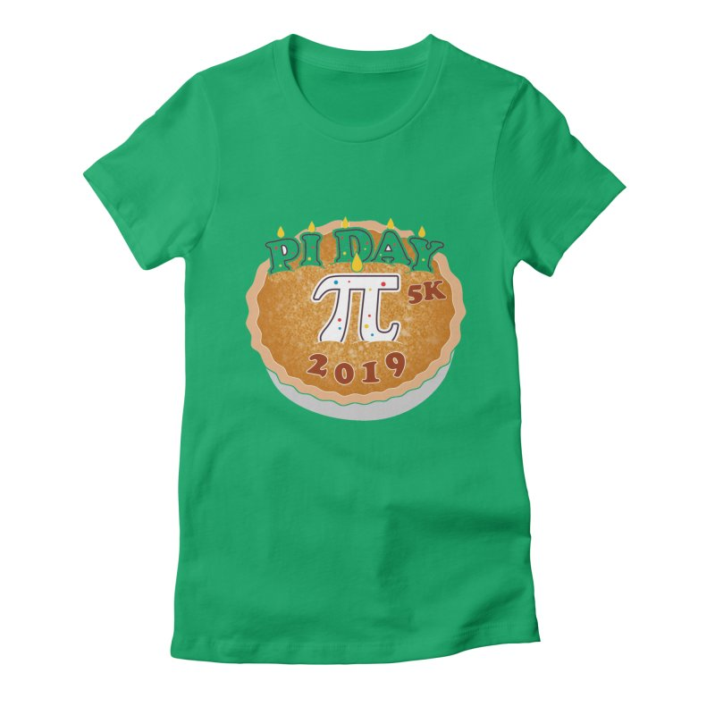 Pi Day 5K Women's Fitted T-Shirt by moonjoggers's Artist Shop