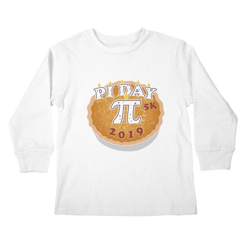 Pi Day 5K Kids Longsleeve T-Shirt by moonjoggers's Artist Shop