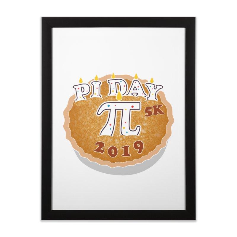 Pi Day 5K Home Framed Fine Art Print by moonjoggers's Artist Shop