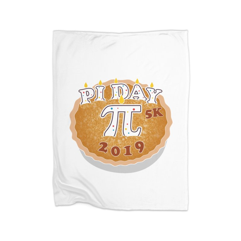 Pi Day 5K Home Blanket by moonjoggers's Artist Shop
